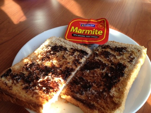 Yummy, Marmite! One of those three kiwi icons from my very first post.