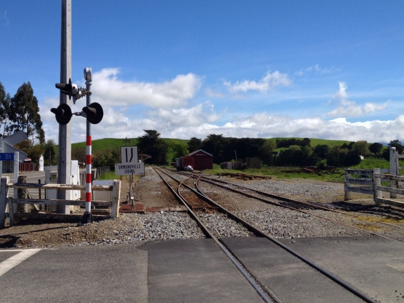 Ormondville Railway Station and Siding