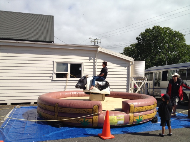 The Bucking Bronco