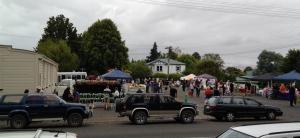 Crowded Otane on Waitangi Day