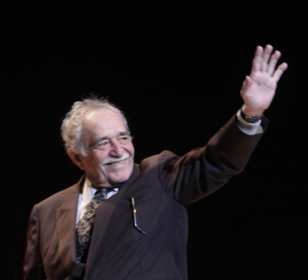 Gabriel Garcia Marquez, 2009CC BY 2.0 Festival Internacional de Cine en Guadalajara - Gala_Ianugural 022
