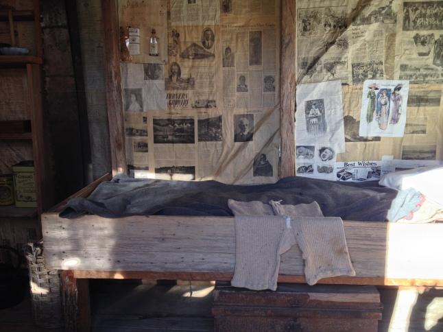 Interior of Farm Hut