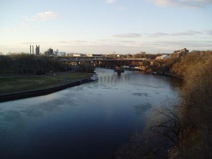 The Mississippi, near University of Minnesota