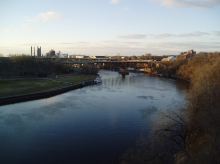 The Mississippi, near University of Minnesota