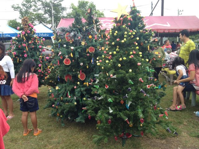 Lopburi Christmas tree