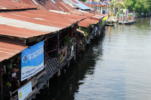The klong near the Artist's House