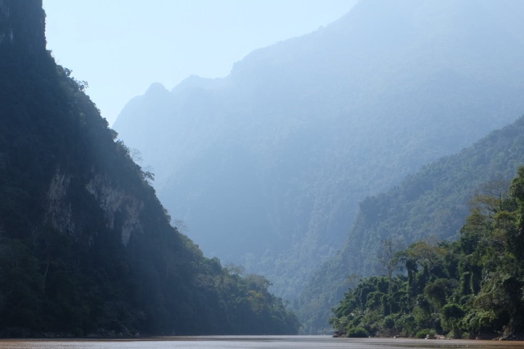 The mountains of Nam Ou