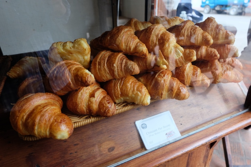 Croissants at Le Banneton