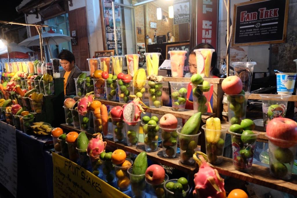 Fruit shake stalls