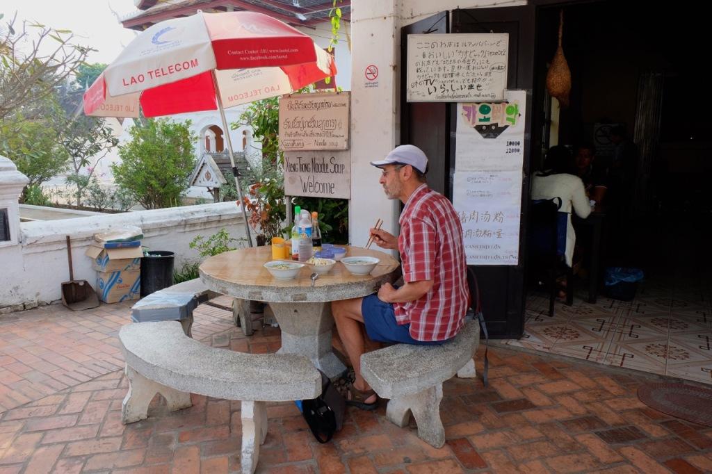 Xieng Tong Noodle House, in Luang Prabang
