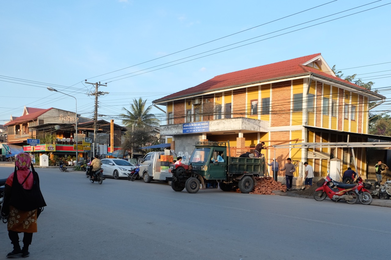 The main street in Luang Namtha