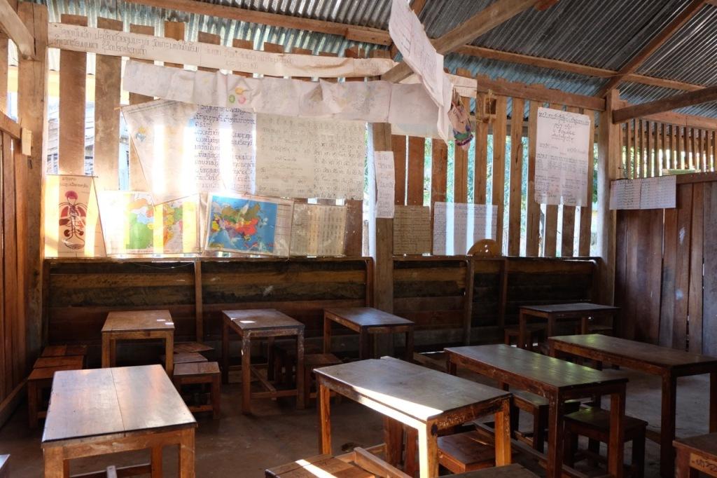 School room in the Lanten village