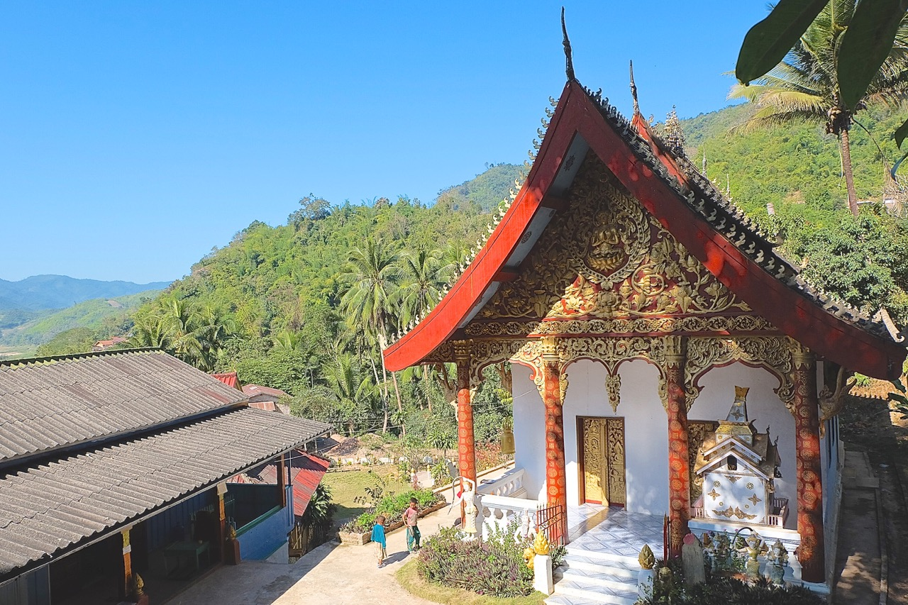 The Wat in Pak Beng