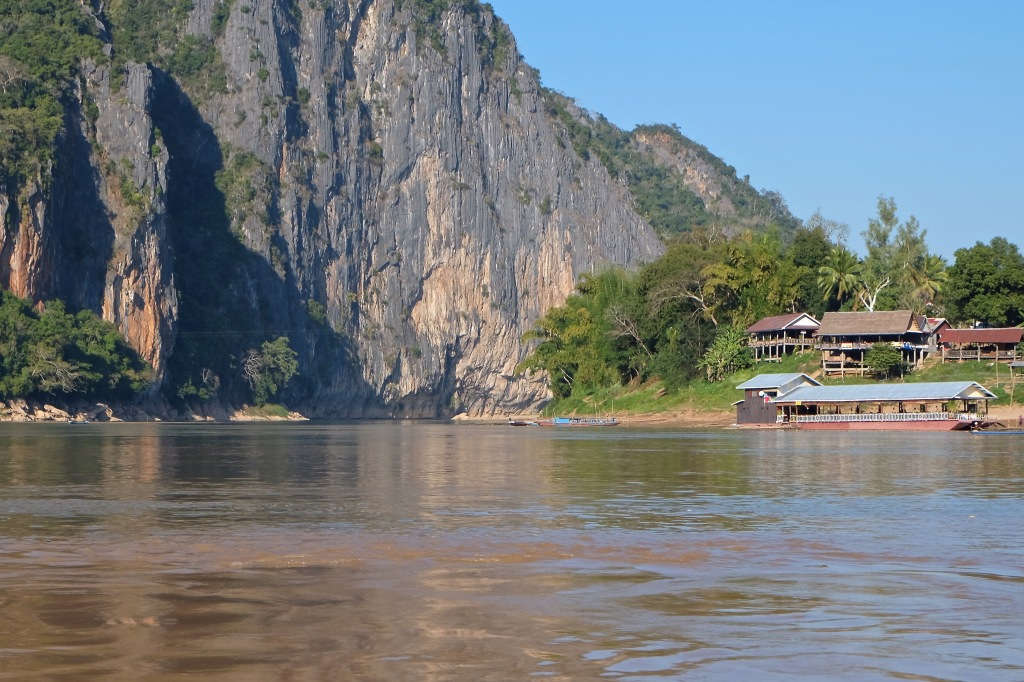 Confluence of the Nam Ou with the Mekong