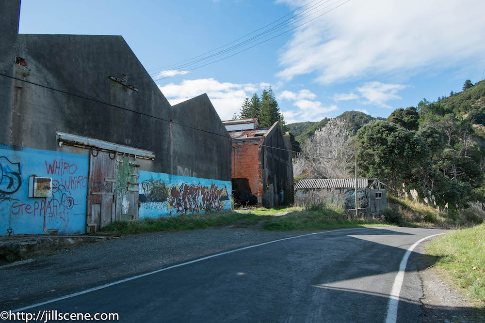 The old freezing works, Tokomaru Bay