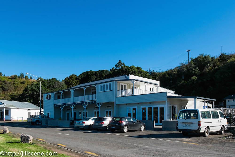 Waihau Bay Lodge (aka the pub)