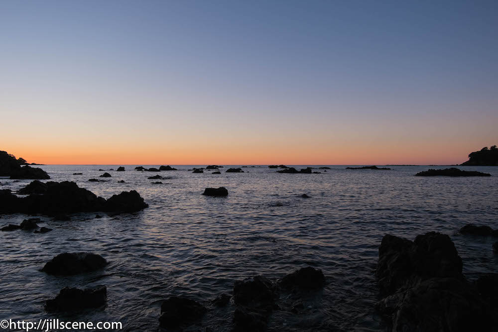 Sunset at Whanarua Bay