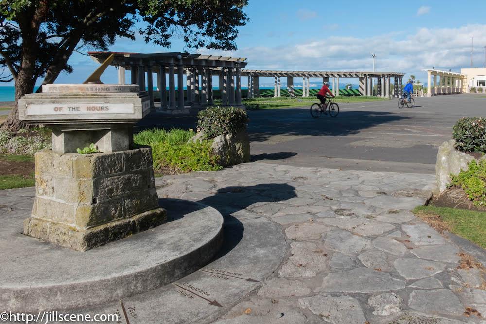 The Kirk Sundial, Marine Parade, Napier