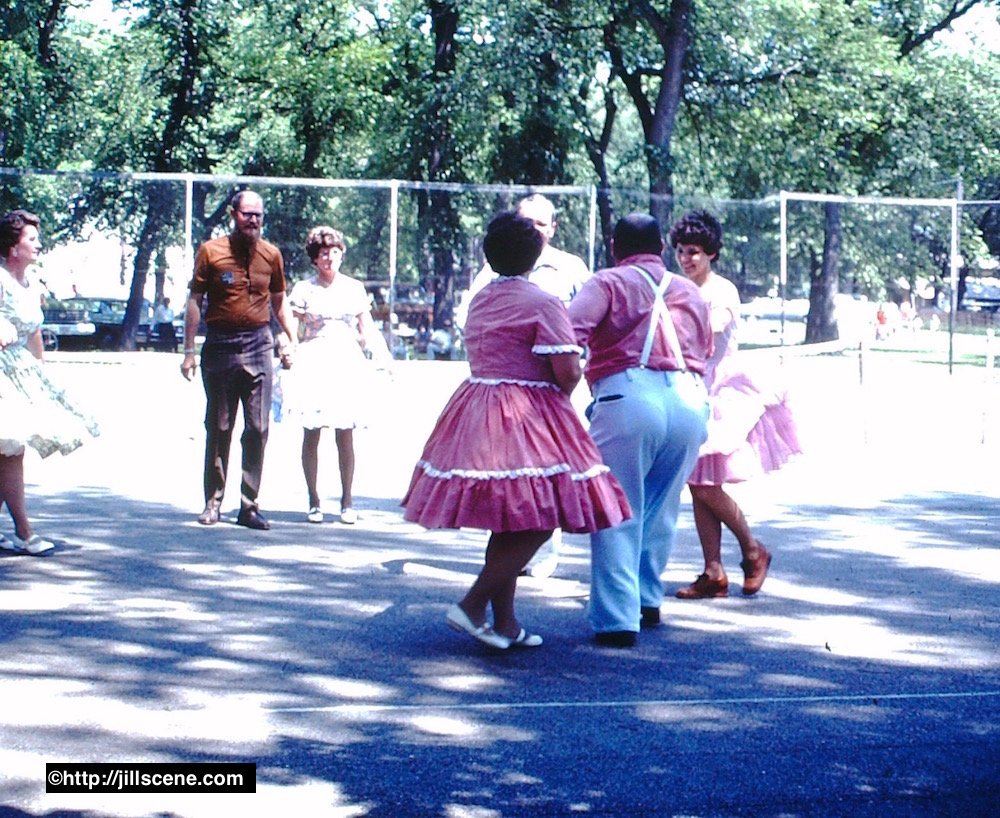 Square dancing, July 4th, 1976