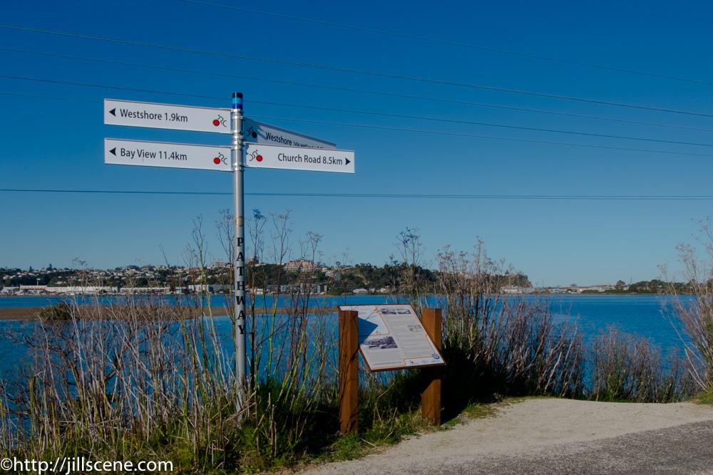 Ahuriri Estuary, Napier, New Zealand
