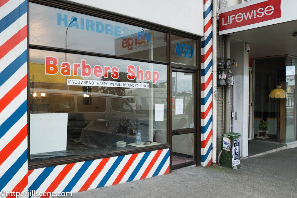 Barbers Shop, K Road, Auckland, New Zealand