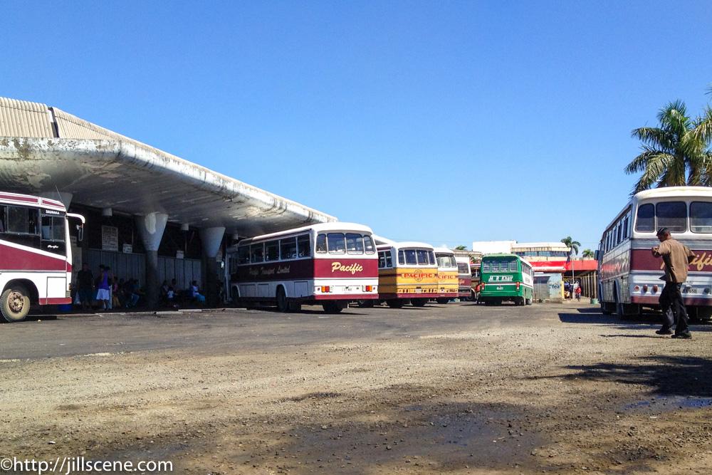Bone shakers, Lautoka bus station, Viti Levu, Fiji
