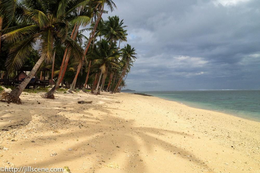 A beach all to ourselves, Coral Coast, Viti Levu, Fiji