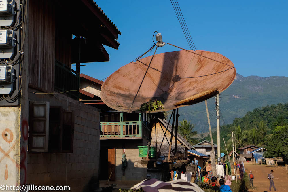 Ban Houahoy Village, Northern Laos