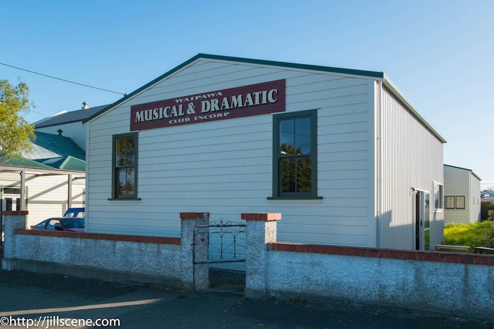 Waipawa Musical and Dramatic Club shed