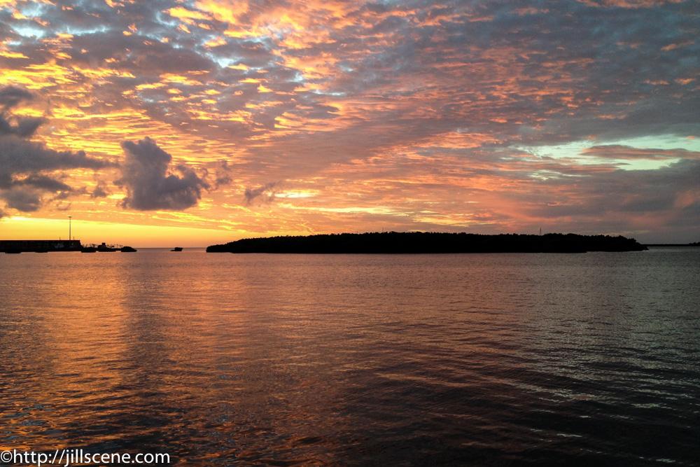 Sunset at Lautoka, Viti Levu, Fiji