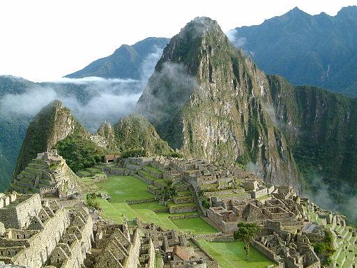 Machu Pichu at sunrise